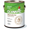 Olympic White Eggshell Latex Interior Paint (Actual Net Contents: 124-fl oz)