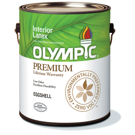 Olympic Gallon Interior Eggshell White Paint