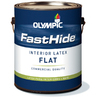 FastHide Gallon Interior Flat White Paint