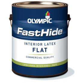 FastHide Gallon Interior Flat Off White Paint