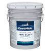 FastHide 5-Gallon Interior Semi-Gloss Off White Paint