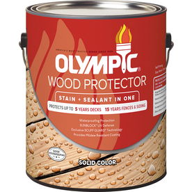 Olympic Wood Protector Tintable Solid Exterior Stain (Actual Net Contents: 114-fl oz)