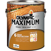 Olympic Maximum Tintable Multiple Semi-Transparent Exterior Stain (Actual Net Contents: 120-fl oz)