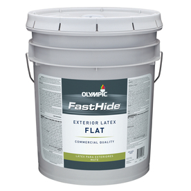 FastHide 5-Gallon Exterior Flat Multi Paint