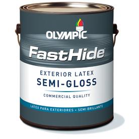FastHide 1-Gallon Exterior Semi-Gloss Multi Latex-Base Paint
