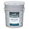 FastHide 5-Gallon Exterior Semi-Gloss Multi Latex-Base Paint