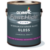 FastHide Gallon Interior/Exterior Gloss White Paint
