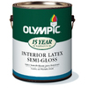 Olympic White Latex Interior Paint (Actual Net Contents: 116-fl oz)