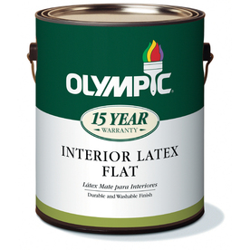 Olympic 1-Gallon Interior Ceiling Ceiling White Latex-Base Paint