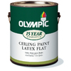 Olympic Gallon Interior Flat Antique White Paint