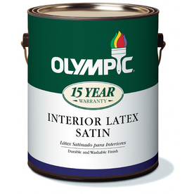 Olympic Gallon Interior Satin Antique White Paint