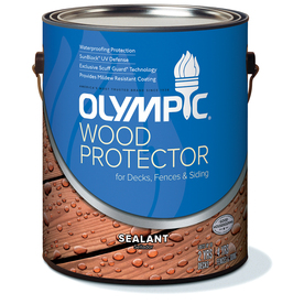 Shop Olympic Wood Protector Clear Clear Exterior Stain Actual Net Contents 128 Fl Oz At