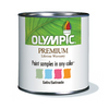 Olympic 8 oz White Satin Paint Sample