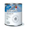Olympic Quart Exterior Flat White Paint