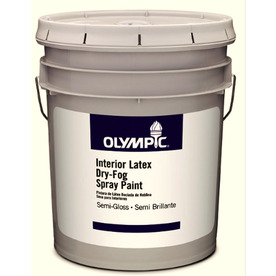 Olympic White Semi-Gloss Latex Interior Paint (Actual Net Contents: 619-fl oz)