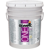 Olympic ONE ONE White Eggshell Latex Interior Paint and Primer In One (Actual Net Contents: 620-fl oz)