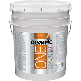 Olympic ONE Tintable Semi-Gloss Latex Enamel Interior Paint and Primer in One (Actual Net Contents: 620-fl oz)