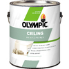 Olympic ONE True White, Tintable Flat Latex Interior Paint and Primer In One (Actual Net Contents: 124-fl oz)
