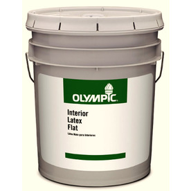 Olympic Clear Eggshell Latex Interior Paint (Actual Net Contents: 569-fl oz)