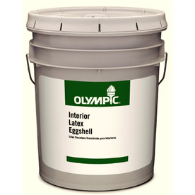 Olympic 5-Gallon Interior Eggshell Clear Latex-Base Paint