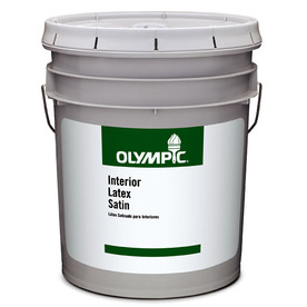 Olympic 5-Gallon Interior Satin Clear Paint