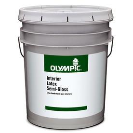 Olympic Clear Flat Latex Interior Paint (Actual Net Contents: 569-fl oz)