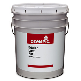 Olympic 5-Gallon Interior Flat Clear Paint