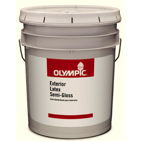 Olympic 5-Gallon Interior Semi-Gloss Clear Paint
