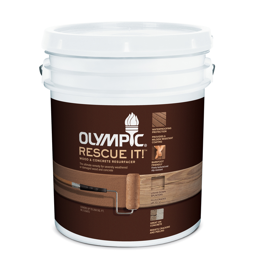 Shop Olympic RESCUE IT! Rescue It 5 Gallon Size Container Tintable ...