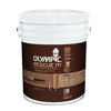 Olympic RESCUE IT 5-Gallon White and Must Be Tinted Restoration Textured Solid Exterior Stain