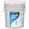 Olympic White Satin Latex Interior Paint and Primer In One (Actual Net Contents: 640-fl oz)