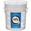 Olympic HOME White Satin Latex Interior Paint (Actual Net Contents: 620-fl oz)