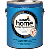 Olympic White Flat Latex Interior Paint (Actual Net Contents: 114 Fluid Oz.)