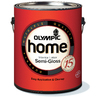 Olympic HOME White Semi-Gloss Latex Interior Paint (Actual Net Contents: 116-fl oz)
