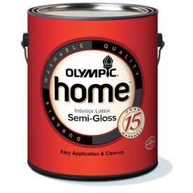 Olympic Home™ Gallon Size Container Interior Semi-Gloss Tintable White Latex-Base Paint (Actual Net Contents: 114-fl oz)
