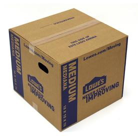 Medium Cardboard Moving Box (Actual: 18-in x 16-in)