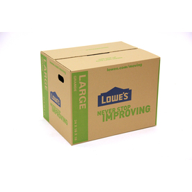 Large Cardboard Moving Box (Actual: 18-in x 24-in)
