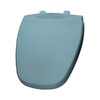 Bemis Twilight Blue Plastic Round Toilet Seat