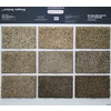 Coronet Keynote Multiple Sample Color Take Home Card Textured Indoor Carpet