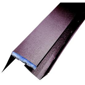 Air Vent 5.75-in x 96-in Brown Aluminum Stick Roof Ridge Vent