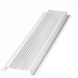 Shop Air Vent Inc 96 In L White Aluminum Soffit Vent At