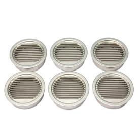 AIR VENT INC. 3.5-in L Mill Aluminum Soffit Vent