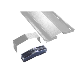 Air Vent 10&#039; White Aluminum Ridge Static Ventilation