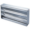 Air Vent 16-in x 8-in Steel Foundation Vent