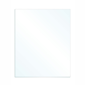 Gardner Glass Products 3/32-in x 32-in x 28-in Clear Replacement Glass for Windows, Cabinets, and Picture Frames
