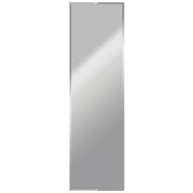 Shop gardner glass products 16 in x 60 in beveled edge for 16 in x 60 in beveled door mirror