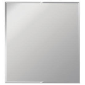 Dreamwalls 36-in x 42-in Silver Beveled Rectangle Frameless Traditional Wall Mirror