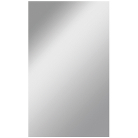 Gardner Glass Products 36-in x 72-in Silver Polished Rectangle Frameless Traditional Wall Mirror