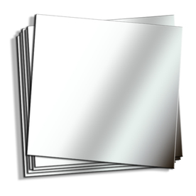 Style Selections 12-in x 12-in Decorative Edge Mirror