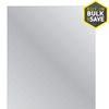 Style Selections 24-in x 36-in Silver Polished Rectangle Frameless Traditional Wall Mirror